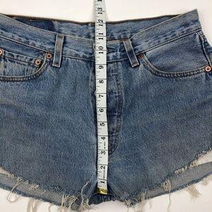 Levi's Shorts - Vintage Levi's 501 Jean Shorts